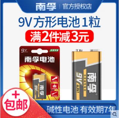 南孚9V1节电池